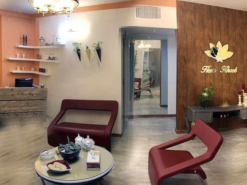 محیط مرکز تخصصی پوست، مو و لاغری حس خوب